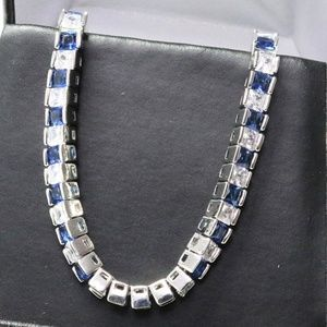 Jewelry - 1 Carat Sapphire Tennis Bracelet
